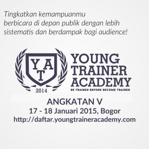 Young Trainer Academy angkatan 5