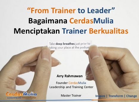 From trainer to Leader - CerdasMulia