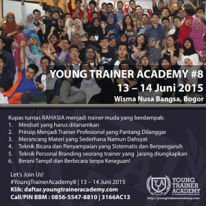 Young Trainer Academy angkatan 8