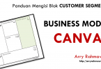 Panduan mengisi blok customer segments pada business model canvas
